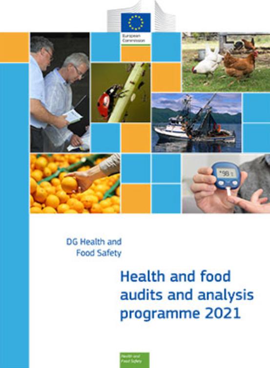 Audit e analisi su salute e alimenti 2021: pubblicato il programma della Commissione UE