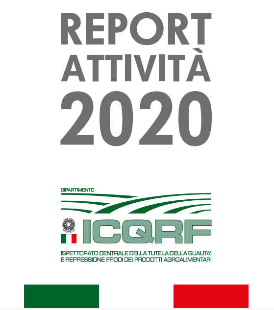 Pubblicato il Report ICQRF per l'anno 2020