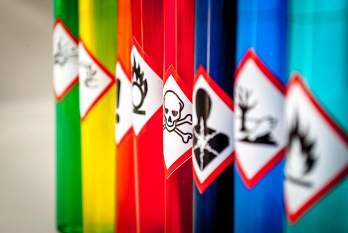 Sostanze pericolose: modificata la Parte I dell'Allegato VI del CLP