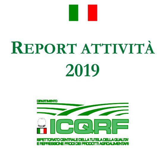 Rapporto attività ICQRF 2019