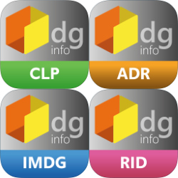 "DG Info CLP - ADR - IMDG - RID - ""bundle"""