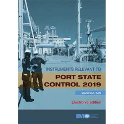 Instruments relevant to port State control 2019, 2020 Edition - e-reader