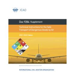 ICAO/OACI Technical Instruction - Supplement  - 2021-2022 ed.