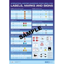 IMDG Code Labels, Marks and Signs, 2020 Ed.